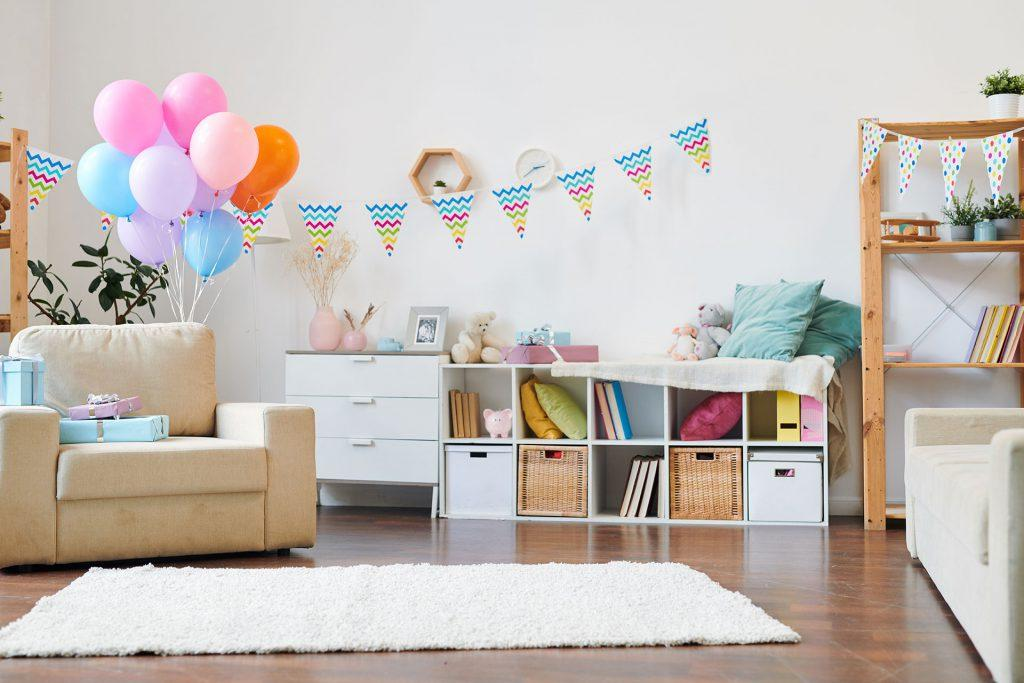 Birthday party decorate