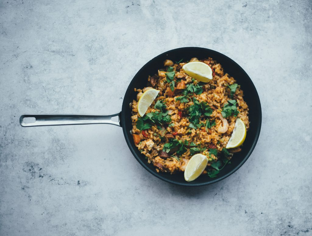 Recipe kits paella