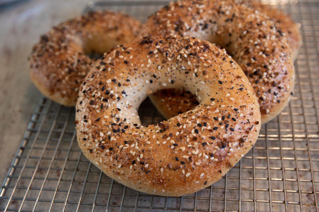 Recipe kits bagels