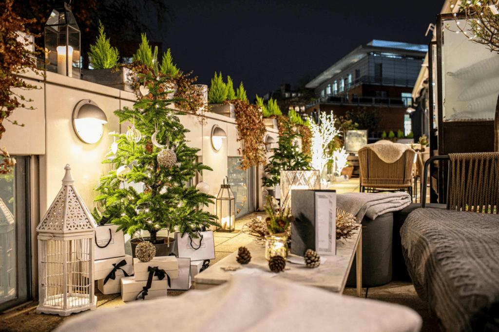 Heated Terrace