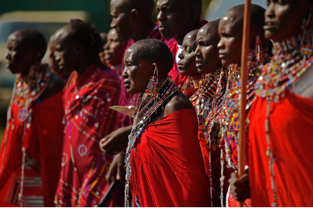 Kenya- Masai people