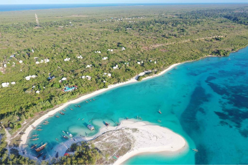 Tanzania - Kilindi Zanzibar from above