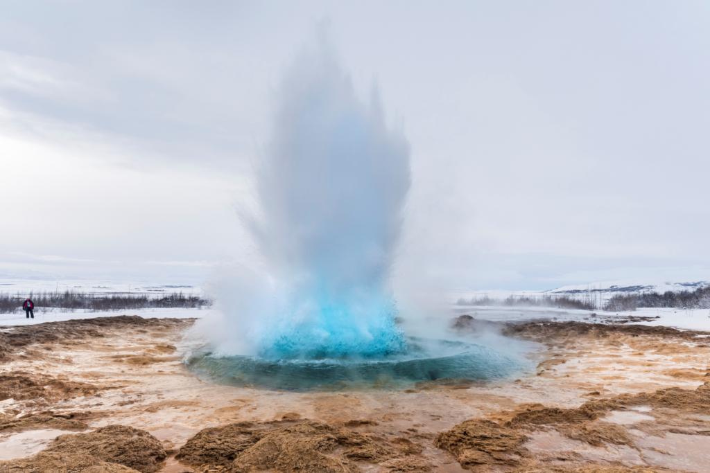 Haukadalur's mud pots, Iceland