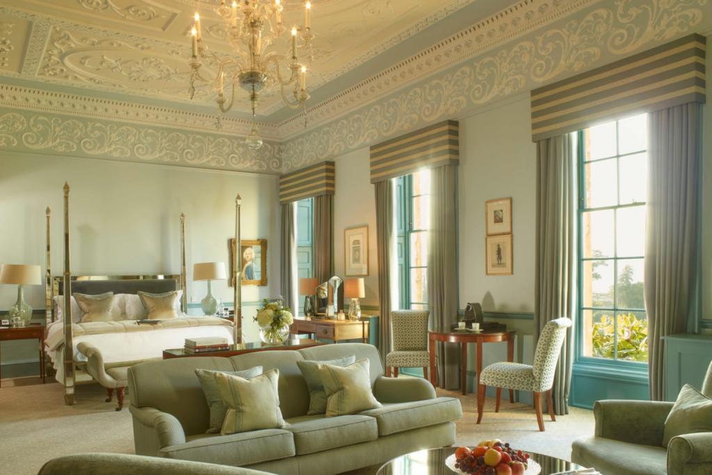 A Royal Crescent bedroom