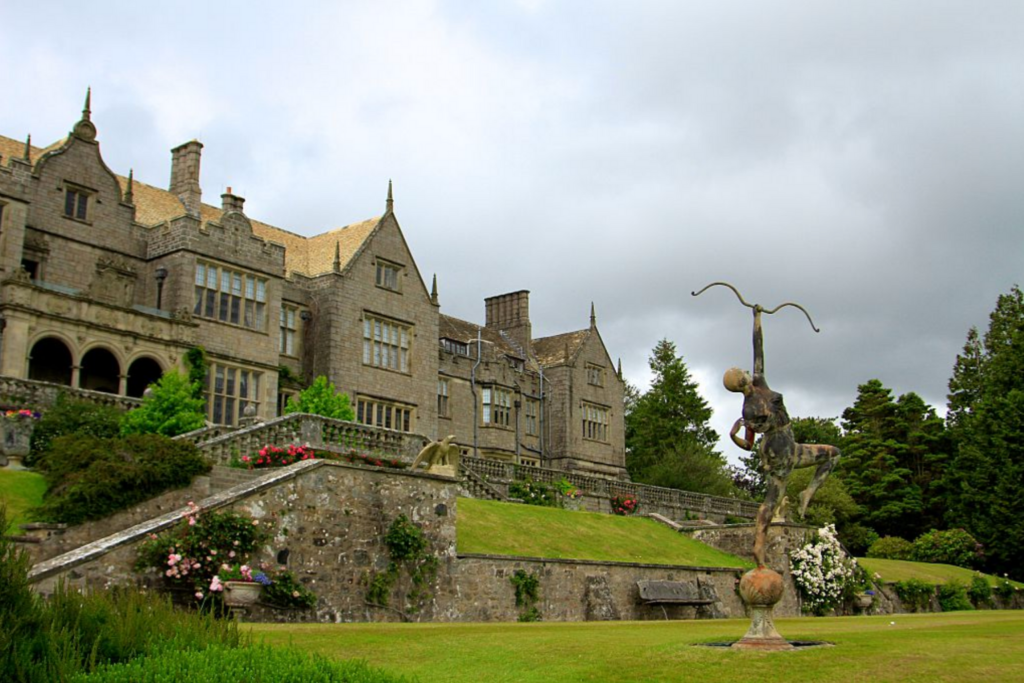 Boutique hotels in the UK: Exterior of Bovey Castle, Devon