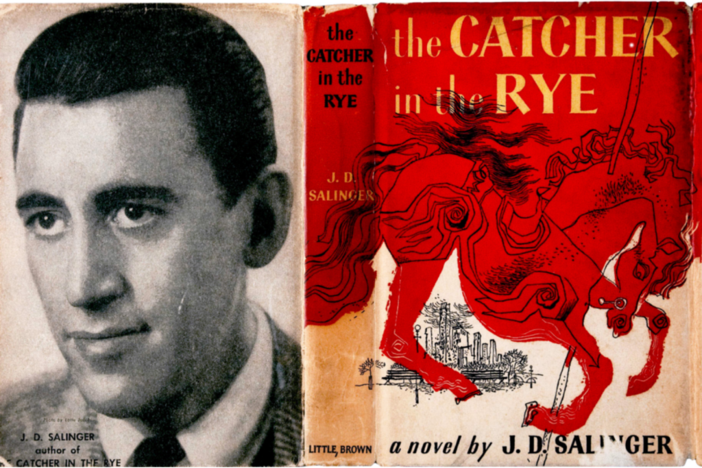 JD Salinger and the Catcher in the Rye cover