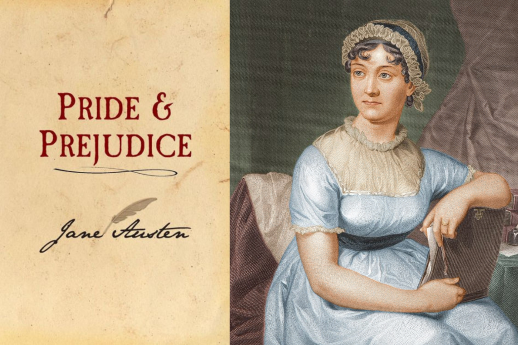 Jane Austen and the original Pride and Prejudice cover
