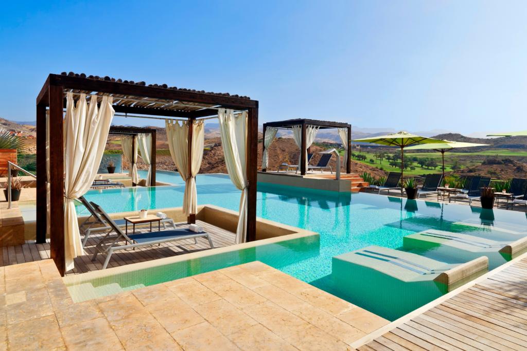 Salobre Hotel pool in Maspalomas, Gran Canaria