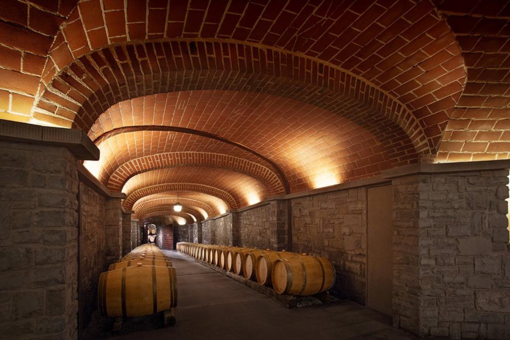 Il Borro wine barrels