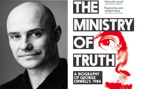 February Book Club: The Ministry of Truth cover with author Dorian Lynskey