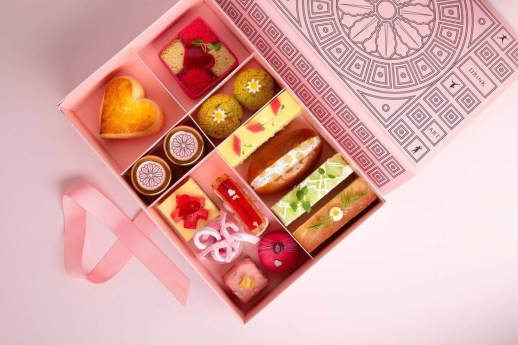 Sketch MMmm… Valentines afternoon tea meal kit