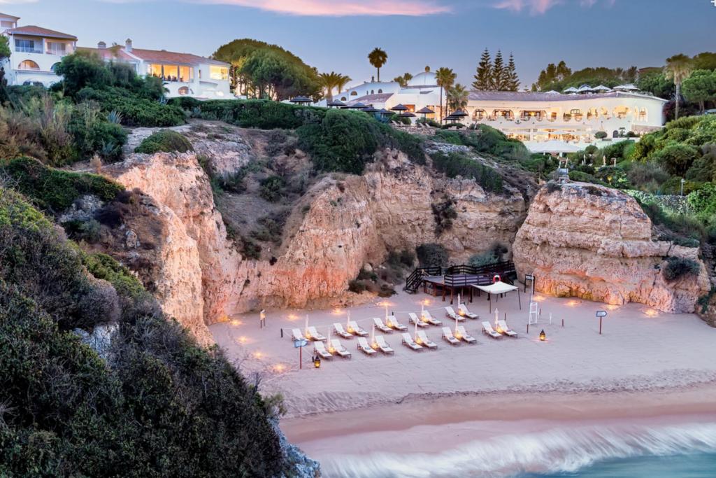 VILA VITA Parc Resort and Spa, Algarve beach