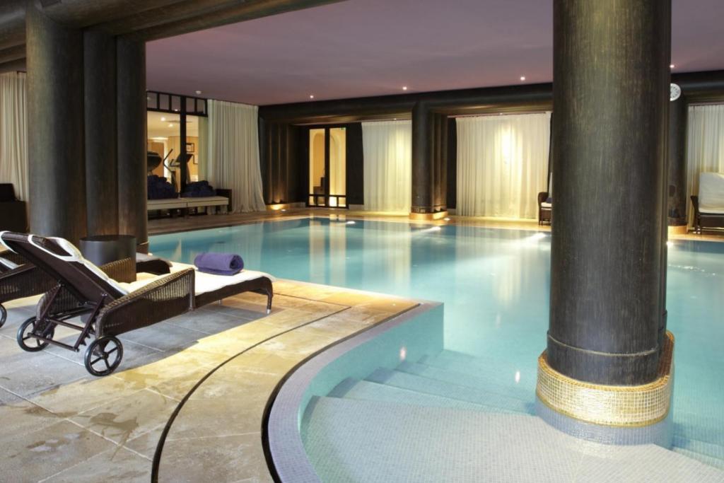 La Réserve Genève Hotel, Spa and Villa, Geneva indoor pool