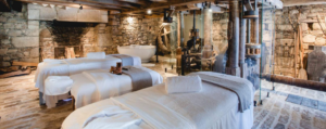 Treatment room at Domaine des Etangs, Massignac, one of the best spa hotels to visit in 2021