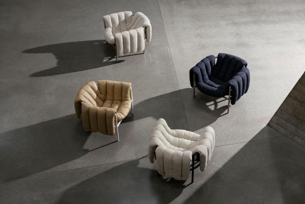 Faye Toogood's Puffy Lounge Chair for Hem