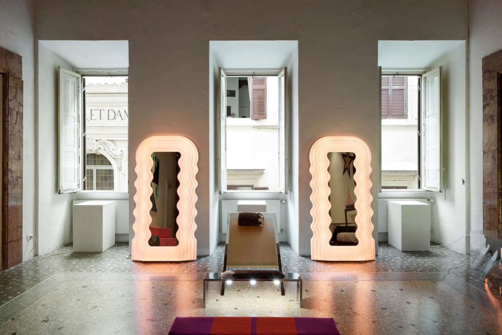 Ettore Sottsass Jr's LED Ultrafragola Mirror