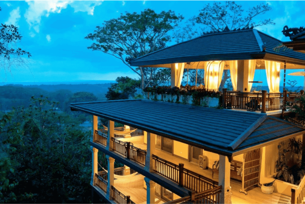 Travel trend number two: taking an extended holiday in a luxurious hotel like LaCure Villas in Costa Rica.