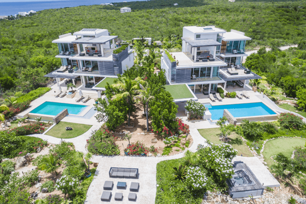 Travel trend number four: renting an all-inclusive private resort like ÀNI Anguilla in the Eastern Caribbean.